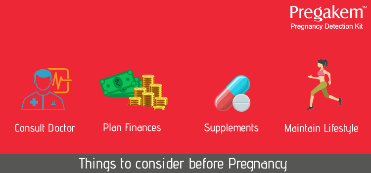 things to consider before your pregnancy