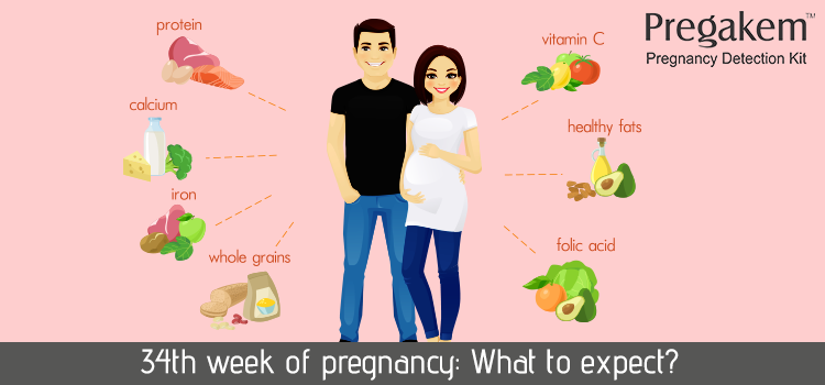 What happens when you are 34 weeks pregnant?